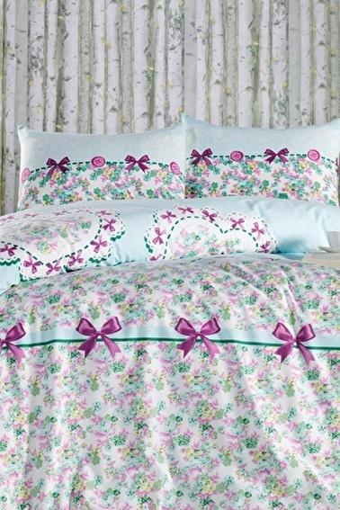 Lady Moda Lovely Mint Tek Kişilik Pike Takımı Renkli